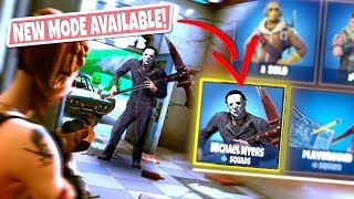 *NEW GAMEMODE* MICHAEL MYERS Custom Gamemode in Fortnite Abandoned Motel! (Secure the Motel!)