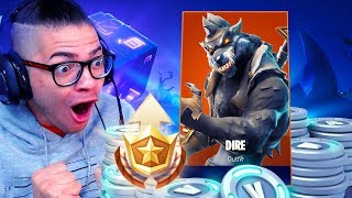 *UNLOCKING* MAX TIERS IN THE NEW SEASON 6 BATTLE PASS! INSANE LVL 100 SKIN IN FORTNITE BATTLE ROYALE