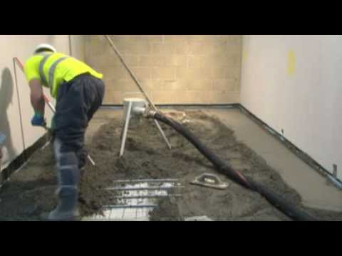 CSC Floor Screeding Installation Video 2 of 2