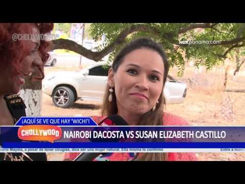 Reportero chollywood Anaybis Nairobi Dacosta vs Susan Elizabeth Castillo