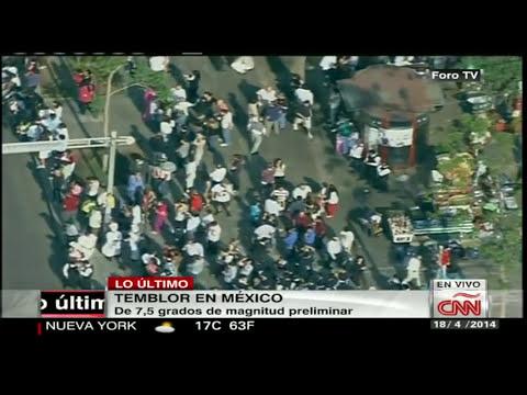 Fuerte temblor sacude México