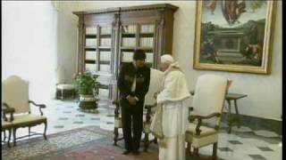 Thumb Videos del presidente Evo Morales con el Papa Benedicto XVI (Ratzinger)