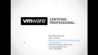 01-VMware vSphere 5.1 (VMware Lab setup and VMware products) By Eng-Wlaa Isam