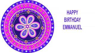 Emmanuel   Indian Designs - Happy Birthday