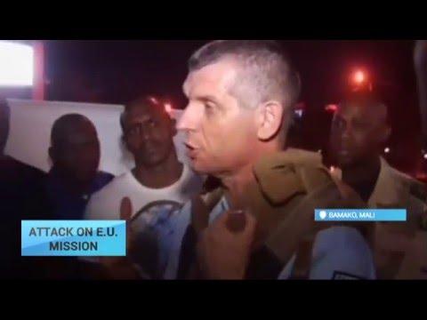 Attack On E.U. Mission: Gunmen attack E.U. military mission headquaters in Mali
