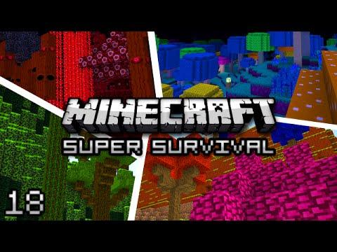 Minecraft: Super Modded Survival Ep. 18 - SH33P H8R'S RETURN