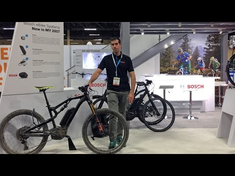 2017 Bosch Electric Bike Updates from Interbike (New Display. Larger Battery. Smaller Charger)