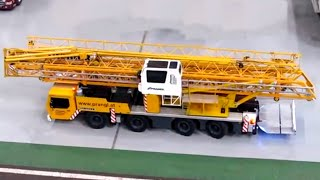Awesome RC Liebherr MK80 Tallest Mobile Crane