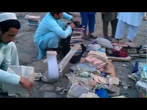 Pakistan Army Operation in North Waziristan Agency Shaheed one mosque and hundreds of Quran