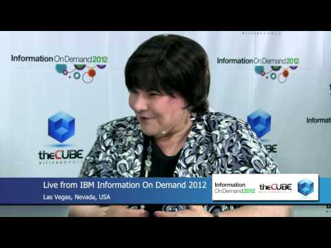 Pauline Nist - IBM Information On Demand 2012 - theCUBE