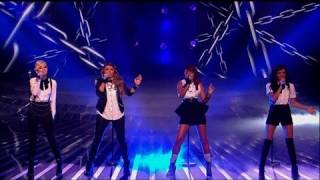 Little Mix are ready to Set It Off - The X Factor 2011 Live Show 7 (Full Version)