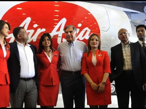 Tata Increases Stake in AirAsia India to 49%