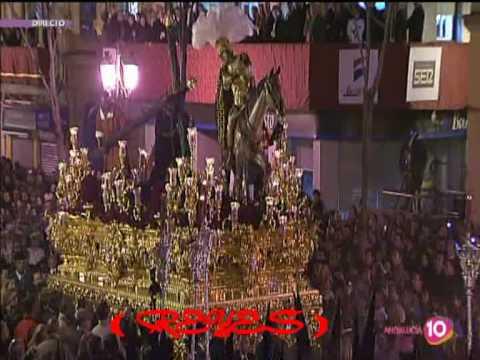 IMPRESIONANTE  / Semana Santa  de Sevilla 2010 / Cristo tres caidas