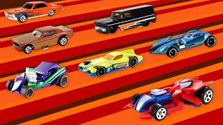 Nederlands leren voor peuters en kleuters - Leer kleuren met autos