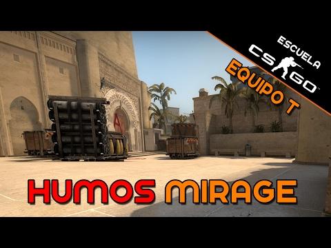 Escuela CS:GO - Humos Mirage equipo T