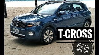 #TCROSS 200 TSI e 250 TSI: conheça as versões do SUV da VW