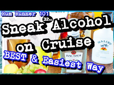Foolproof ways to Get Alcohol Rum Runner on Board a Cruise Ship Step by Step