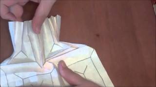 Origami Flasher 'x' Tutorial