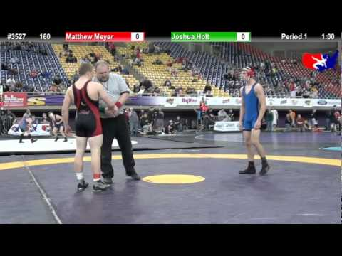 FSN 160: Matthew Meyer (Best Trained) vs. Joshua Holt (Little Texans Wrestling Club) Image 1