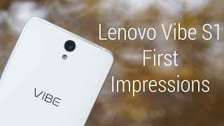Lenovo Vibe S1 - Hands On Impressions!