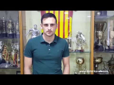 Former Birkirkara FC Captain Gareth Sciberras with a message to the supporters to become members for Season 2017-2018.