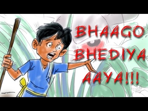 Bhaggo Bhediya Aaya | Kilkariyan | Hindi Stories For Kids | Bedtime Children Stories | Kids Stories video