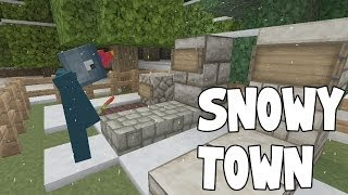 Minecraft Xbox - Re-Solitude - Snowy Town [7]