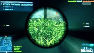 Battlefield 3 Gameplay Rush Metro Part 1 (HD 1080p)
