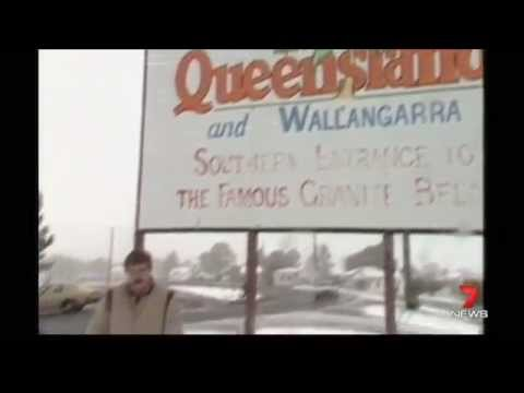 Seven News Queensland Flashback: Stanthorpe Snow Event, 1984 (12/7/2015)