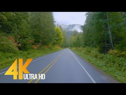 4K Autumn Road, Part #2 - State Road 542, Mount Baker Highway - Short Preview Video