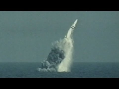 China's nuclear submarines fire underwater rockets