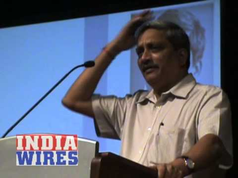 Manohar Parrikar in Bangalore