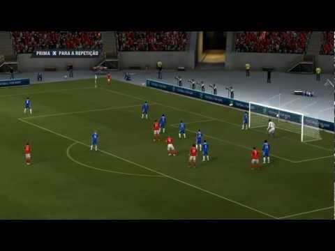 Benfica vs Chelsea 0-1 FIFA 2012