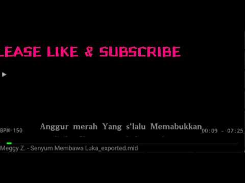 Karaoke Senyum Membawa Luka Meggy Z No Vocal HQ Audio