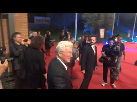 Richard Gere Red Carpet Festival del Film di Roma - Video