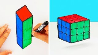 15 DIY ILLUSIONS AND MAGIC TRICKS