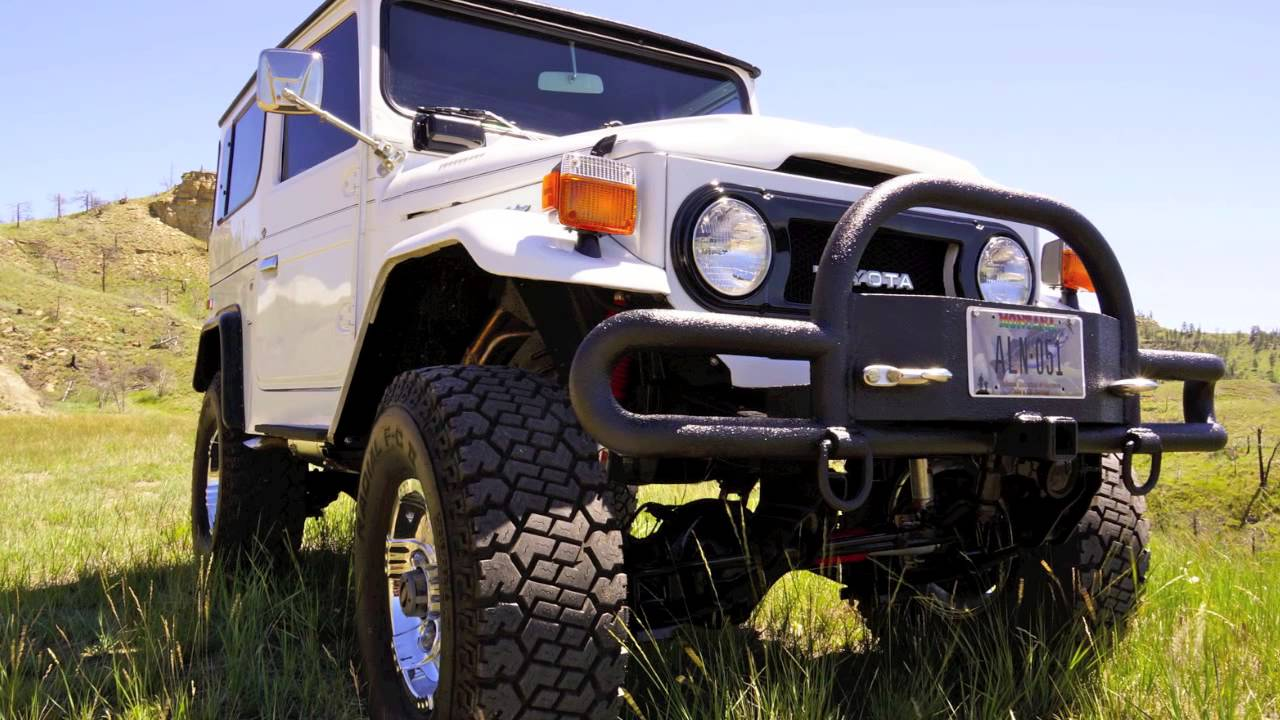 1977 Toyota Land Cruiser Fj40 With Chevy 350 For Sale