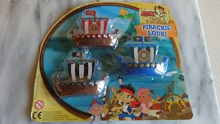 Jake & The Never Land Pirates Toys Pack Set Unboxing Mini Ships