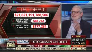 Stockman on Trump Blaming Fed for Correction: Rates Still Underwater, Carnage Just Getting Started