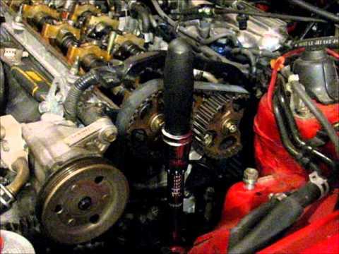 98 Honda Prelude H22a4 Head Gasket Replacement Pt1 Diy