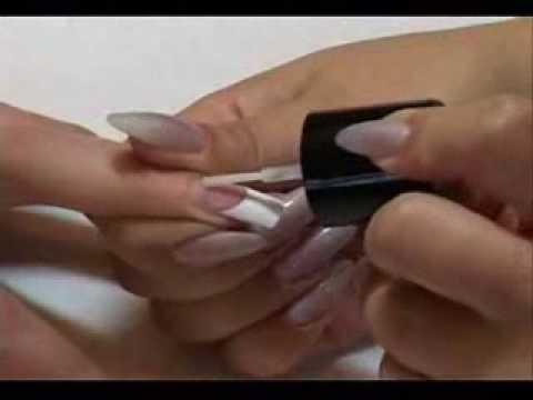 Технология наращивания ногтей