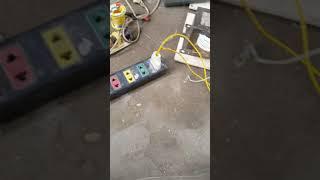 Tự làm máy hàn hồ quang bằng biến áp lò vi sóng(2)
