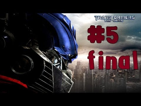 Transformers: The Game - Walkthrough - Final Part 5 - The Ultimate Doom   Autobots (PC) [HD]