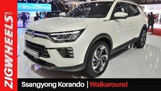 Ssangyong Korando Walkaround | XUV500 Replacement? | ZigWheels.com