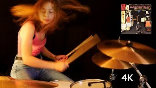 Get The Funk Out (Extreme); drum cover by Sina
