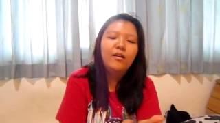 CHINESE LADY SPEAKING TWI.