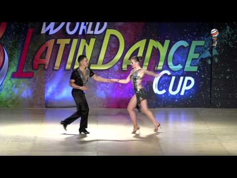 Nando & Kavia, Colombia & Sweden, Pro am Salsa On 1 Man Lead, WLDC 2016