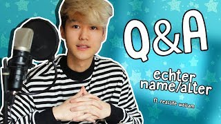ECHTER Name und Alter  | Q&A | ft. Face Reveal