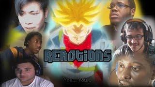Trunks Goes Super Saiyan Rage (Reaction Mashup)