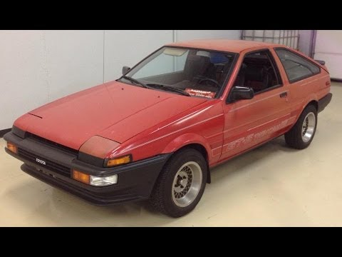 Toyota AE86 Corolla GTS Hatchback. Tuneup and JDM bumpers ...